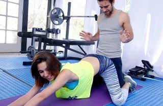 Cece Capella Cum Squeeze Workout